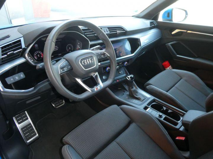 Audi Q3 35 TFSI 150 S-line S-tronic Bleu Turbo Occasion - 18
