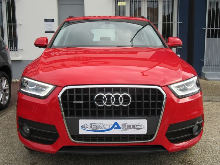 Audi Q3 BUSINESS LINE QUATTRO S TRONIC 7 Rouge Occasion - 6
