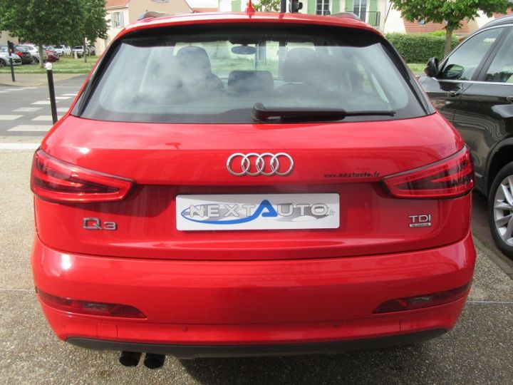 Audi Q3 BUSINESS LINE QUATTRO S TRONIC 7 Rouge Occasion - 7