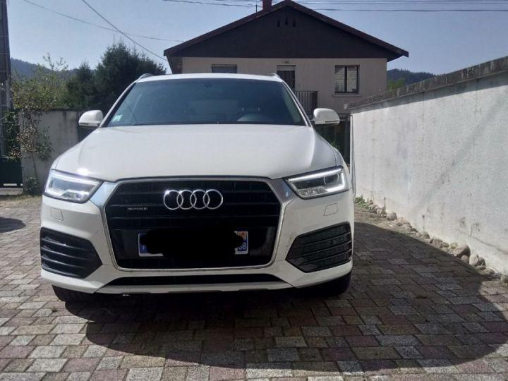 Audi Q3 s-line quattro blanc - 1