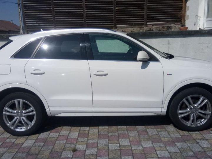 Audi Q3 s-line quattro blanc - 2