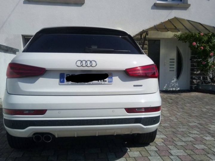 Audi Q3 s-line quattro blanc - 4