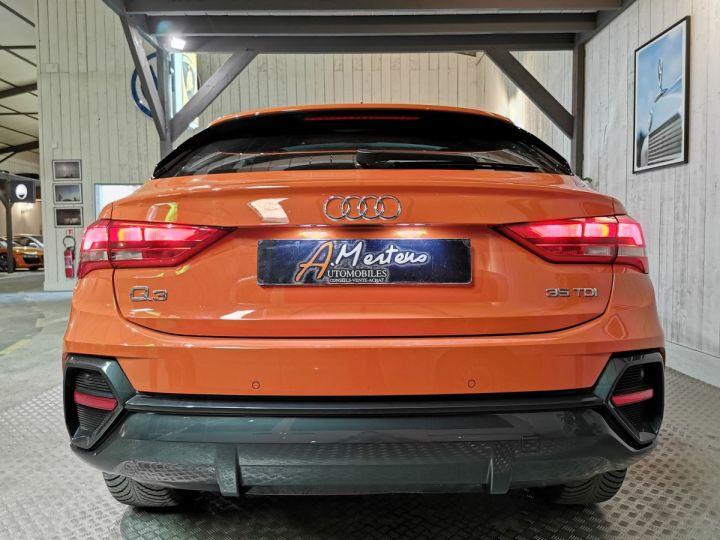 Audi Q3 Sportback 35 TDI 150 CV STRONIC Orange - 4