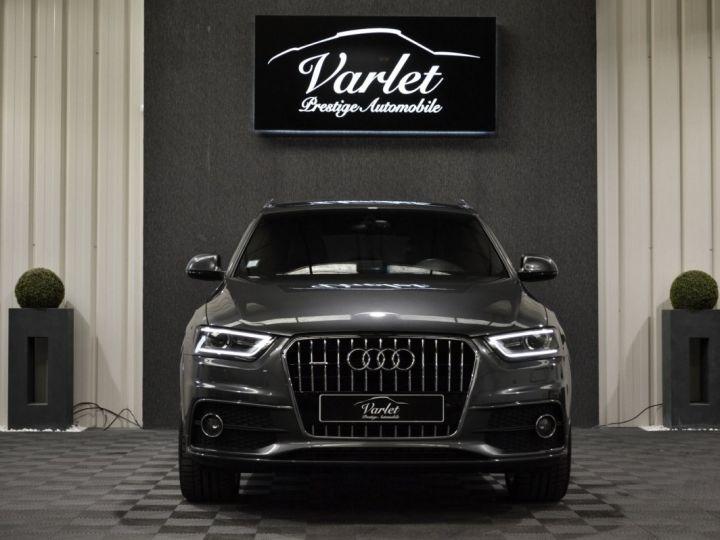 Audi Q3 Superbe 2.0 tdi 177ch quattro stronic SLINE plus 1ere main DAYTONA 19 KEYLESS GO GPS MMI... GRIS DAYTONA - 2