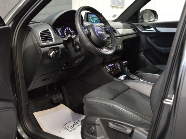 Audi Q3 Superbe 2.0 tdi 177ch quattro stronic SLINE plus 1ere main DAYTONA 19 KEYLESS GO GPS MMI... GRIS DAYTONA - 7