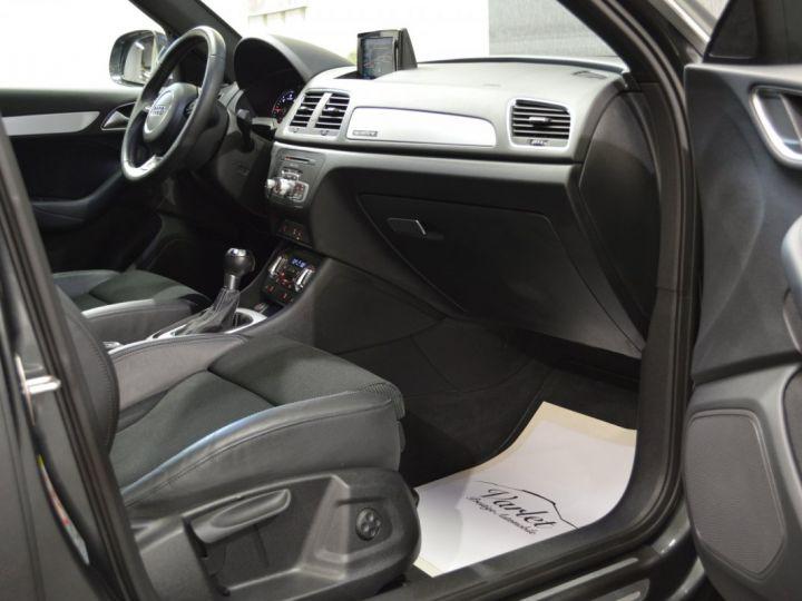 Audi Q3 Superbe 2.0 tdi 177ch quattro stronic SLINE plus 1ere main DAYTONA 19 KEYLESS GO GPS MMI... GRIS DAYTONA - 12