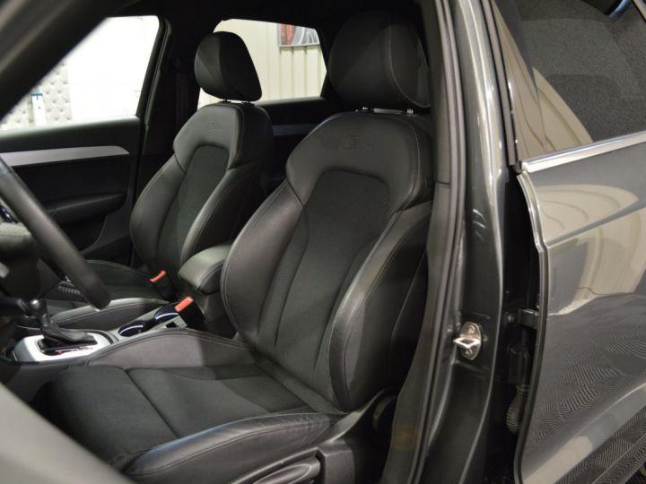 Audi Q3 Superbe 2.0 tdi 177ch quattro stronic SLINE plus 1ere main DAYTONA 19 KEYLESS GO GPS MMI... GRIS DAYTONA - 13