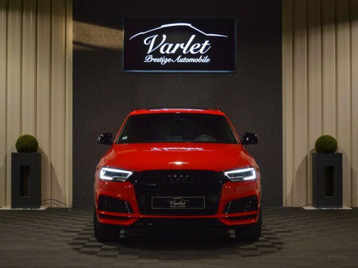 Audi Q3 Unique audi q3 facelift quattro 2.0 tdi 184ch stronic sline competition rouge misano nacre 1ere main ROUGE MISANO NACRE - 2