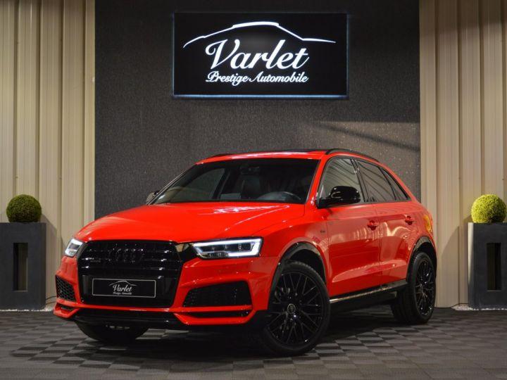 Audi Q3 Unique audi q3 facelift quattro 2.0 tdi 184ch stronic sline competition rouge misano nacre 1ere main ROUGE MISANO NACRE - 3
