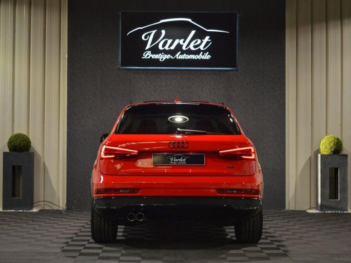 Audi Q3 Unique audi q3 facelift quattro 2.0 tdi 184ch stronic sline competition rouge misano nacre 1ere main ROUGE MISANO NACRE - 5
