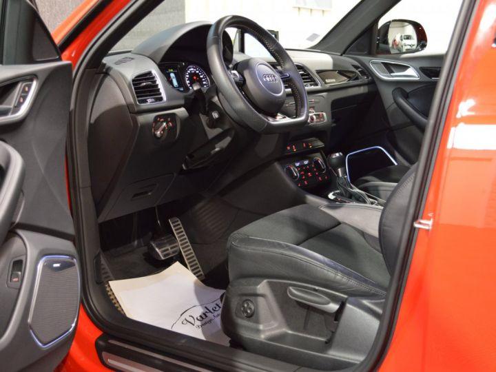 Audi Q3 Unique audi q3 facelift quattro 2.0 tdi 184ch stronic sline competition rouge misano nacre 1ere main ROUGE MISANO NACRE - 7