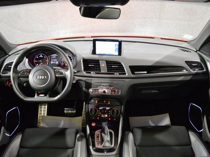 Audi Q3 Unique audi q3 facelift quattro 2.0 tdi 184ch stronic sline competition rouge misano nacre 1ere main ROUGE MISANO NACRE - 8
