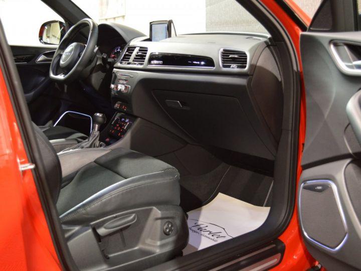 Audi Q3 Unique audi q3 facelift quattro 2.0 tdi 184ch stronic sline competition rouge misano nacre 1ere main ROUGE MISANO NACRE - 9