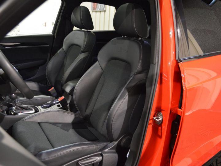 Audi Q3 Unique audi q3 facelift quattro 2.0 tdi 184ch stronic sline competition rouge misano nacre 1ere main ROUGE MISANO NACRE - 10