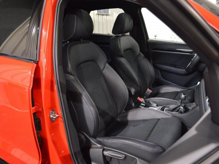 Audi Q3 Unique audi q3 facelift quattro 2.0 tdi 184ch stronic sline competition rouge misano nacre 1ere main ROUGE MISANO NACRE - 11