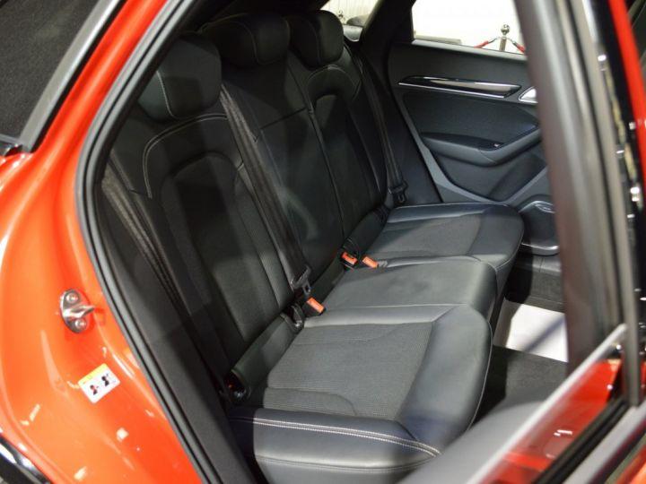 Audi Q3 Unique audi q3 facelift quattro 2.0 tdi 184ch stronic sline competition rouge misano nacre 1ere main ROUGE MISANO NACRE - 12