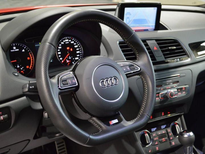 Audi Q3 Unique audi q3 facelift quattro 2.0 tdi 184ch stronic sline competition rouge misano nacre 1ere main ROUGE MISANO NACRE - 14