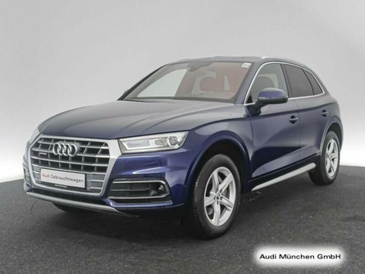 Audi Q5 bleu - 1