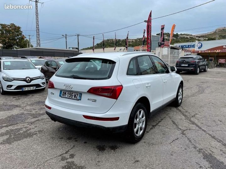 Audi Q5 2.0 tdi Blanc Occasion - 4