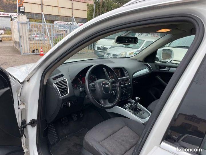 Audi Q5 2.0 tdi Blanc Occasion - 5