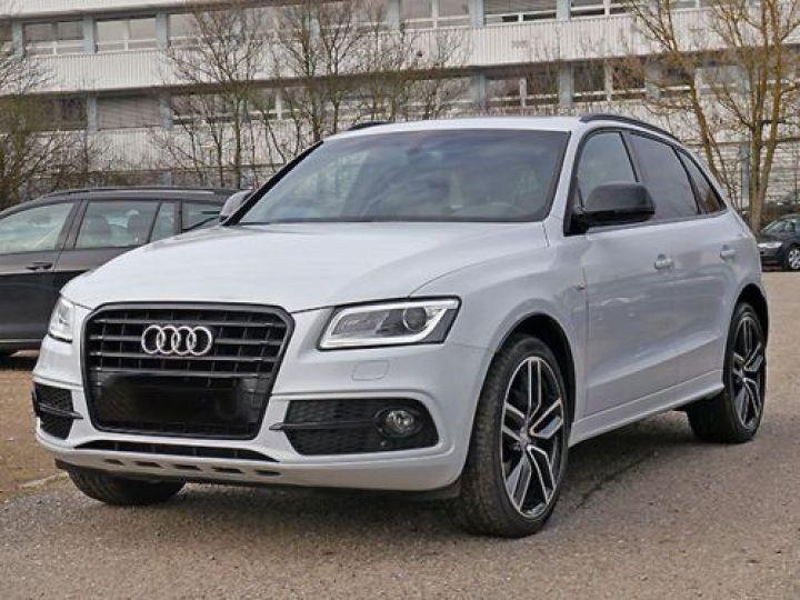 Audi Q5 2.0 TDI 150CH S LINE BLANC - 1