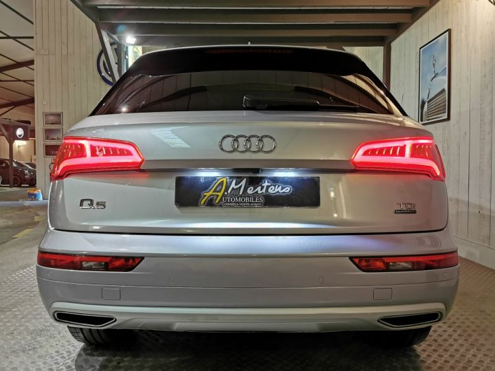 Audi Q5 2.0 TDI 190 CV DESIGN LUXE QUATTRO BVA Gris - 4