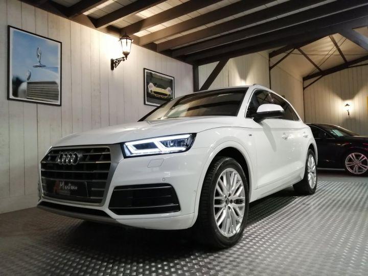 Audi Q5 2.0 TDI 190 CV SLINE QUATTRO BVA Blanc - 2
