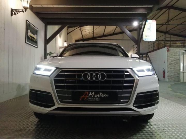 Audi Q5 2.0 TDI 190 CV SLINE QUATTRO BVA Blanc - 3