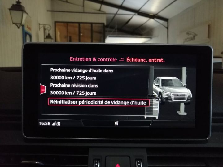 Audi Q5 2.0 TDI 190 CV SLINE QUATTRO BVA Gris - 14