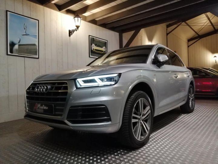 Audi Q5 2.0 TDI 190 CV SLINE QUATTRO BVA Gris - 2