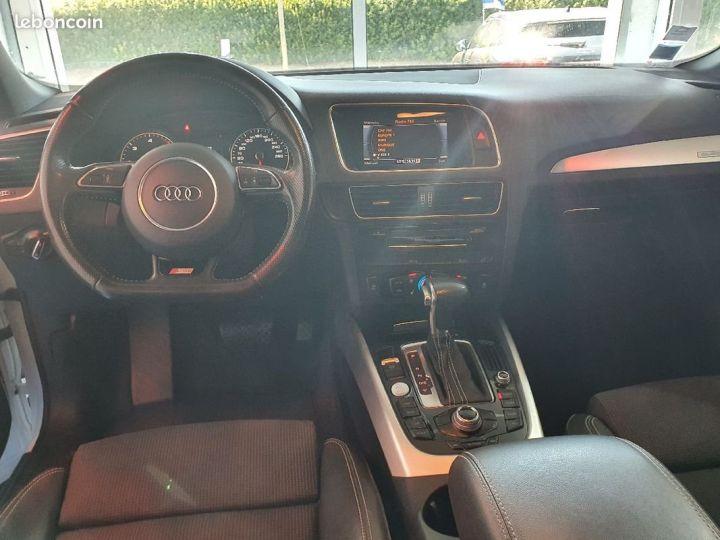 Audi Q5 2.0 TDI 190 S-Line S-Tronic Quattro Blanc - 5