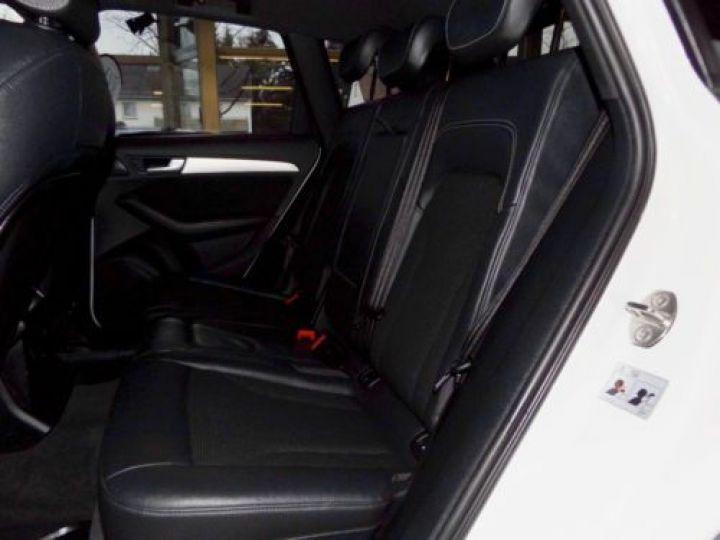 Audi Q5 2.0 TDI 190CH CLEAN DIESEL S LINE QUATTRO BLANC Occasion - 8
