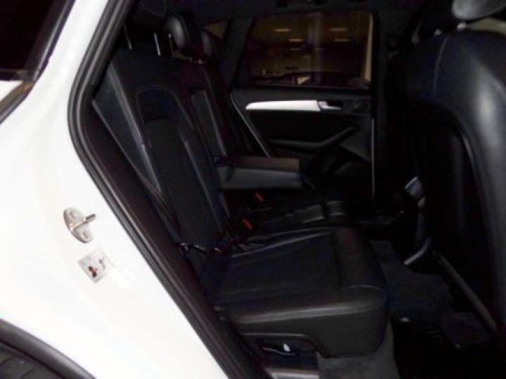 Audi Q5 2.0 TDI 190CH CLEAN DIESEL S LINE QUATTRO BLANC Occasion - 10