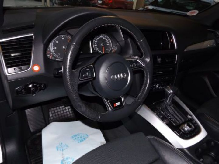 Audi Q5 2.0 TDI 190CH CLEAN DIESEL S LINE QUATTRO BLANC Occasion - 11