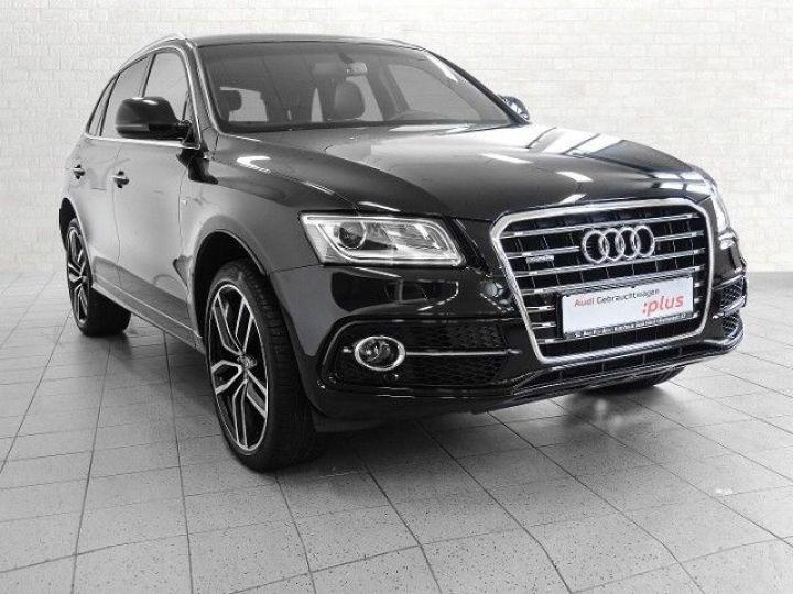 Audi Q5 2.0 TDI 190CH CLEAN DIESEL S LINE QUATTRO S TRONIC 7 NOIR Occasion - 1