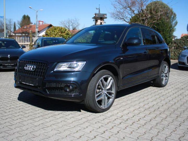 Audi Q5 2.0 TDI 190CH CLEAN DIESEL S LINE S TRONIC 7 BLEU Occasion - 1