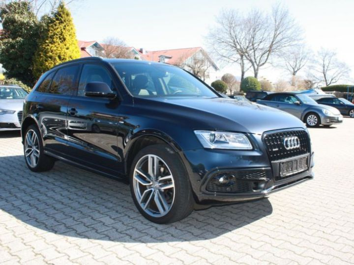 Audi Q5 2.0 TDI 190CH CLEAN DIESEL S LINE S TRONIC 7 BLEU Occasion - 3