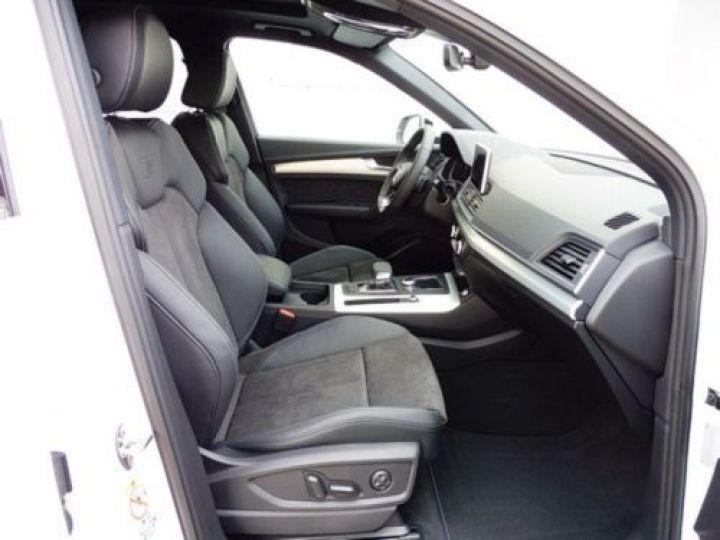Audi Q5 2.0 TDI 190CH S LINE QUATTRO S TRONIC 7 BLANC - 8