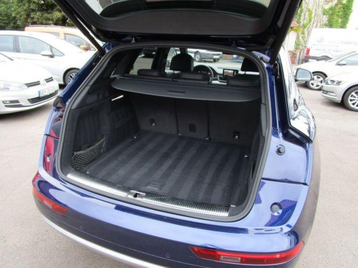 Audi Q5 2.0 TDI 190CH S LINE QUATTRO S TRONIC 7 BLEU Occasion - 2