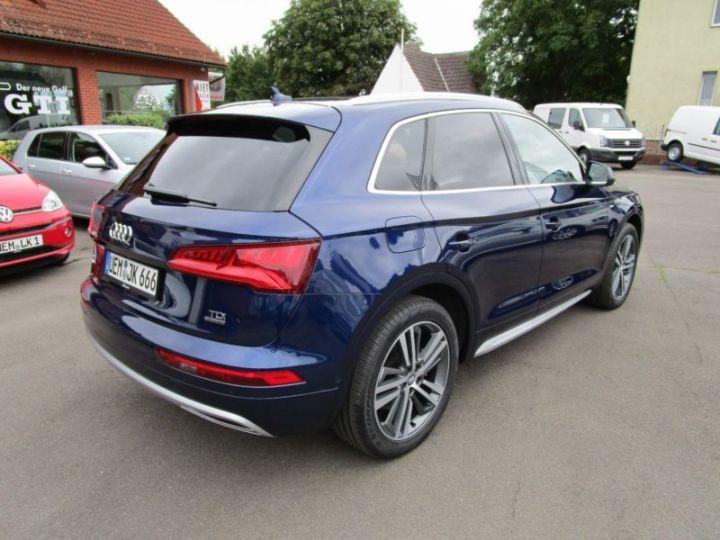 Audi Q5 2.0 TDI 190CH S LINE QUATTRO S TRONIC 7 BLEU Occasion - 4