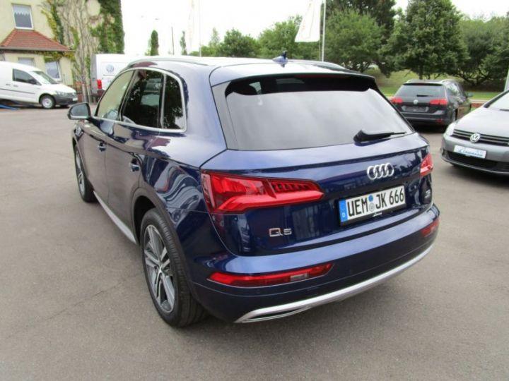 Audi Q5 2.0 TDI 190CH S LINE QUATTRO S TRONIC 7 BLEU Occasion - 5