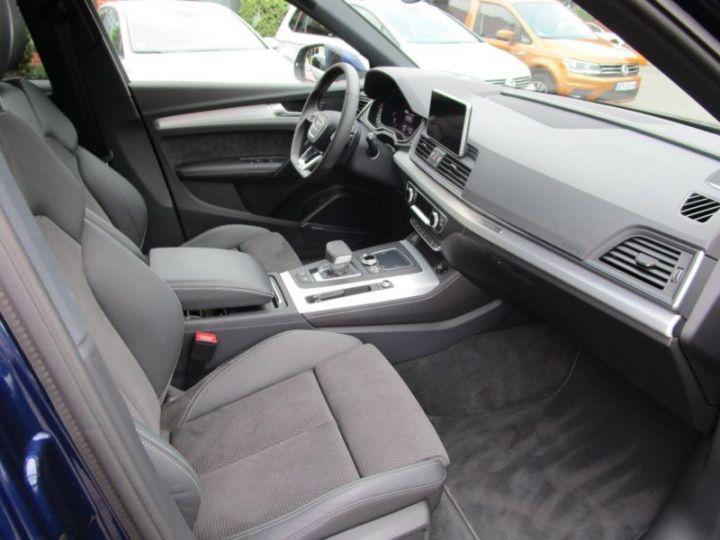 Audi Q5 2.0 TDI 190CH S LINE QUATTRO S TRONIC 7 BLEU Occasion - 12