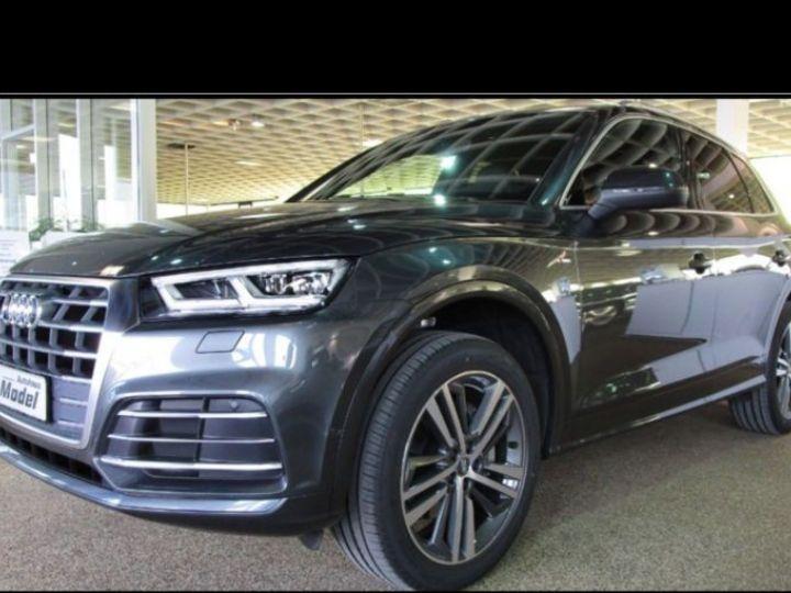 Audi Q5 2.0 TDI 190CH S LINE QUATTRO S TRONIC 7 GRIS Occasion - 1
