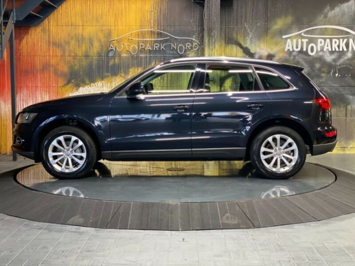 Audi Q5 2.0 TDI quattro S Tronic~NAVI~XENON~PANORAMA,1ere Main,47000Kms Bleu Peinture métallisée - 3