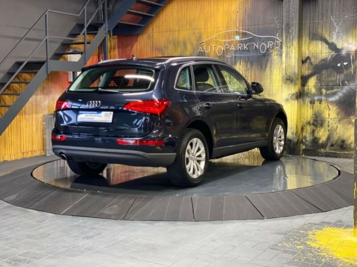 Audi Q5 2.0 TDI quattro S Tronic~NAVI~XENON~PANORAMA,1ere Main,47000Kms Bleu Peinture métallisée - 5