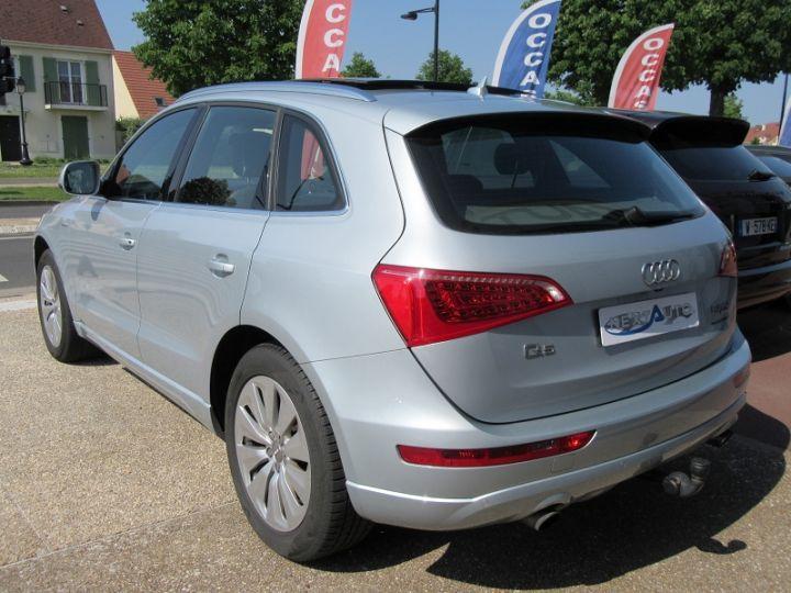 Audi Q5 2.0 TFSI 245CH AVUS QUATTRO TIPTRONIC Gris Clair Occasion - 3