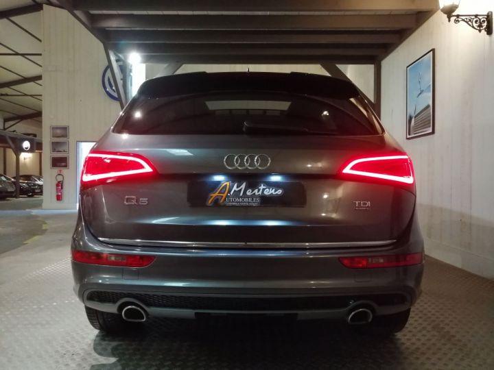 Audi Q5 3.0 TDI 245 CV SLINE QUATTRO BVA Gris - 4