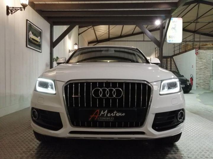 Audi Q5 3.0 TDI 258 CV AVUS QUATTRO BVA Blanc - 3