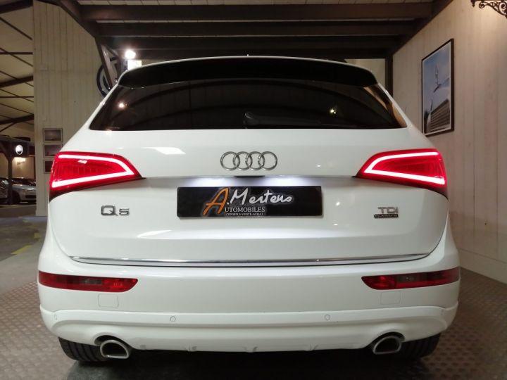 Audi Q5 3.0 TDI 258 CV AVUS QUATTRO BVA Blanc - 4