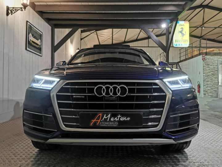 Audi Q5 3.0 TDI 286 CV DESIGN LUXE QUATTRO BVA Bleu - 3